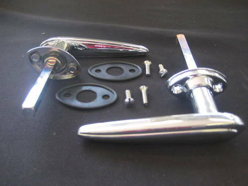 1935 1936 ford pick up outside door handle kit ebay for 1934 ford door hinges