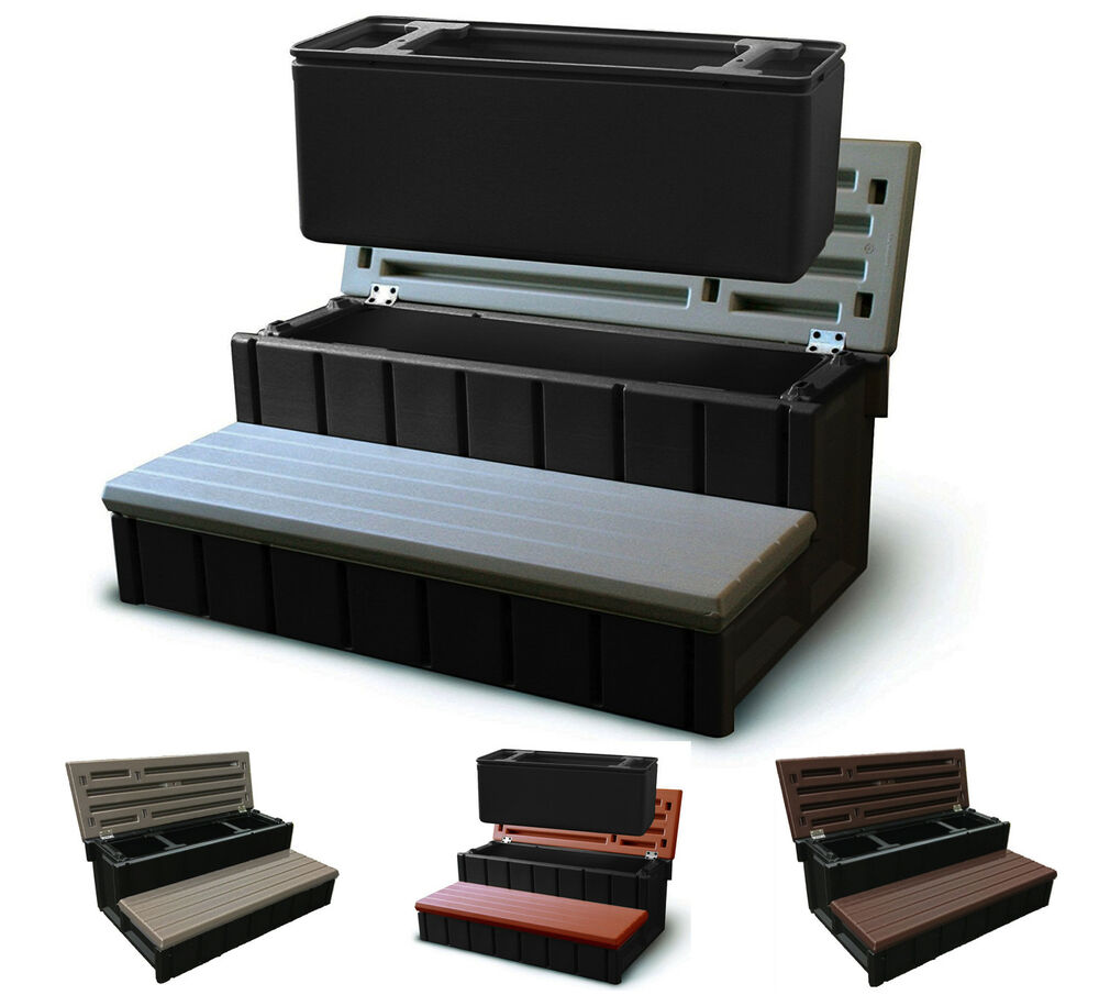 Spa Stairs Storage : ... Plastics 36
