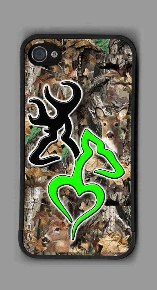 L k ultimate green deer heart camo cell phone or ipod - Browning deer cell phone wallpaper ...