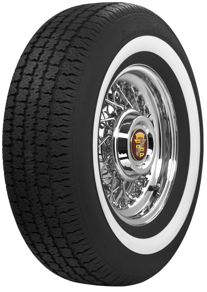 American Classic 225 75r15 1 6 Quot White Wall Radials Ebay