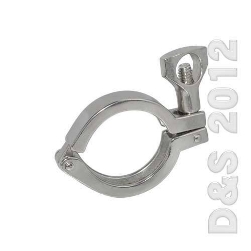 Quot tri clamp clover stainless steel heavy duty to