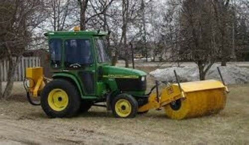 New Mb Ht 7 Foot Tractor Front Mount Hydraulic Drive