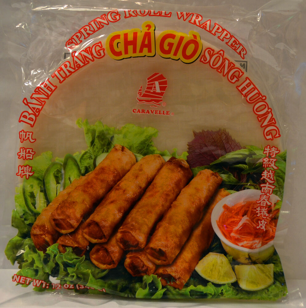 Caravelle Spring Roll Rice Paper Wrappers 22cm - Buy 3 get
