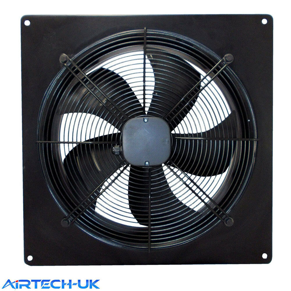 Commercial Ventilation Fans Industrial : Industrial ventilation extractor metal axial exhaust