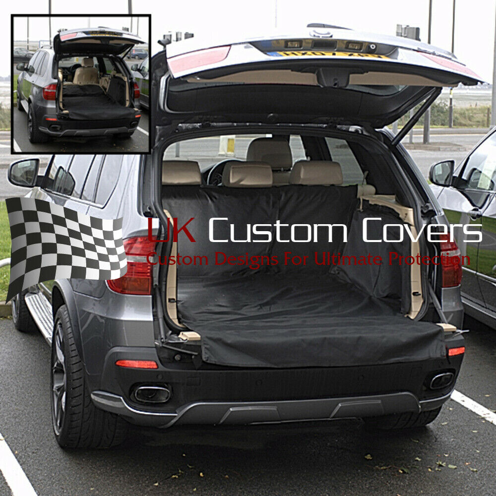 bmw x5 ma gefertigte kofferraumauskleidung matt hundegitter jahr 2007 2013 058 ebay. Black Bedroom Furniture Sets. Home Design Ideas