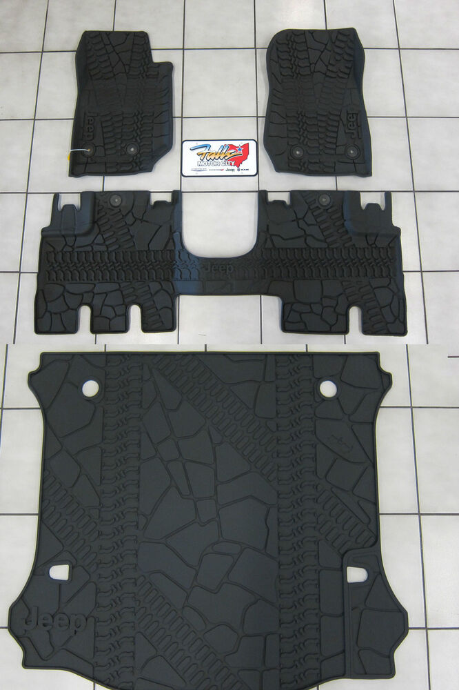 image large wrangler ebay mopar rubber cherokee floor for striking mats unlimited jeep oem compass on matsjeep of grand design size