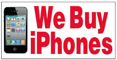 we buy iphones 2x4 ft vinyl banner sign new we buy iphones ebay 13286
