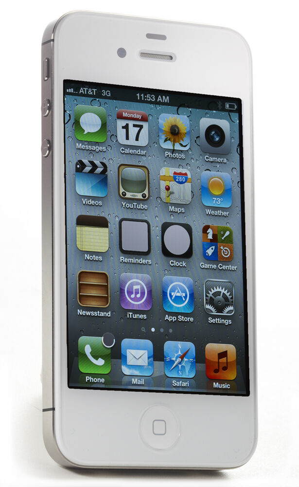 iphone 4s for sale ebay apple iphone 4s 32gb white at amp t smartphone mc921ll 1102