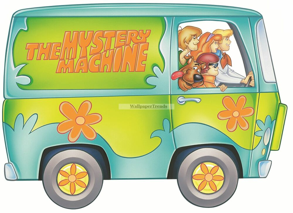 mystery machine decals for