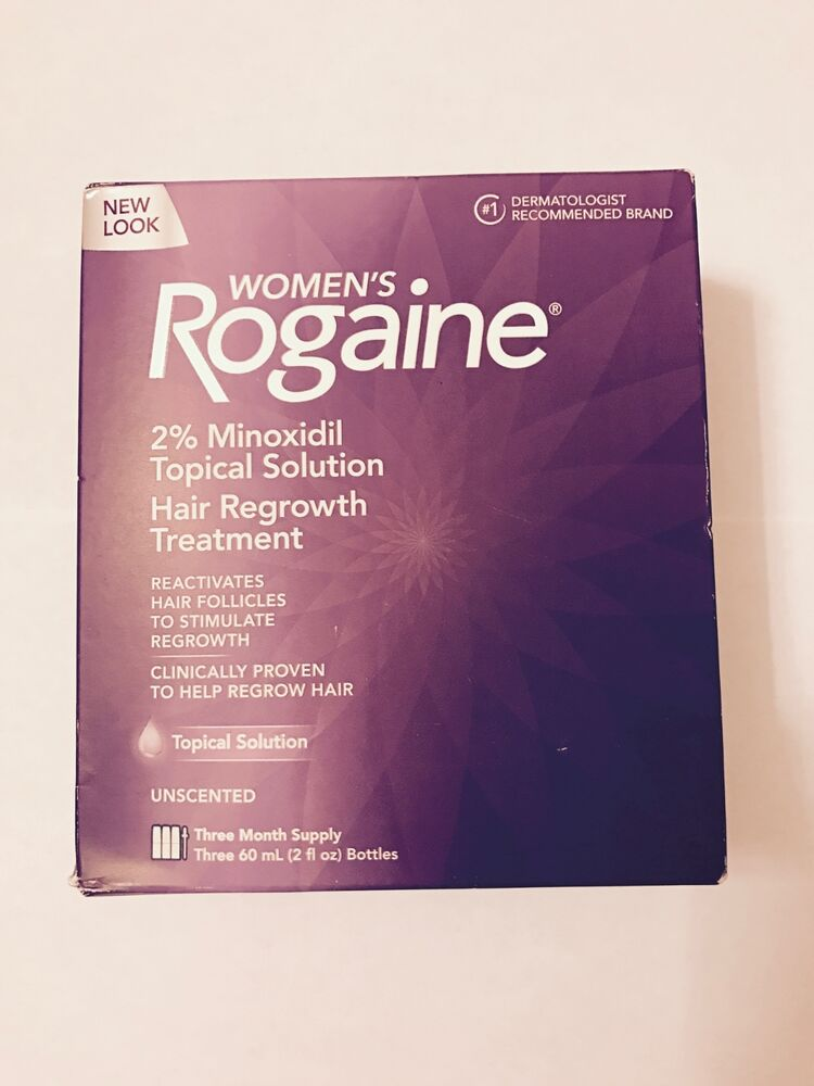 Women's Rogaine Topical Solution 2% Minoxidil - 6 Months Supply 312547780209 | eBay