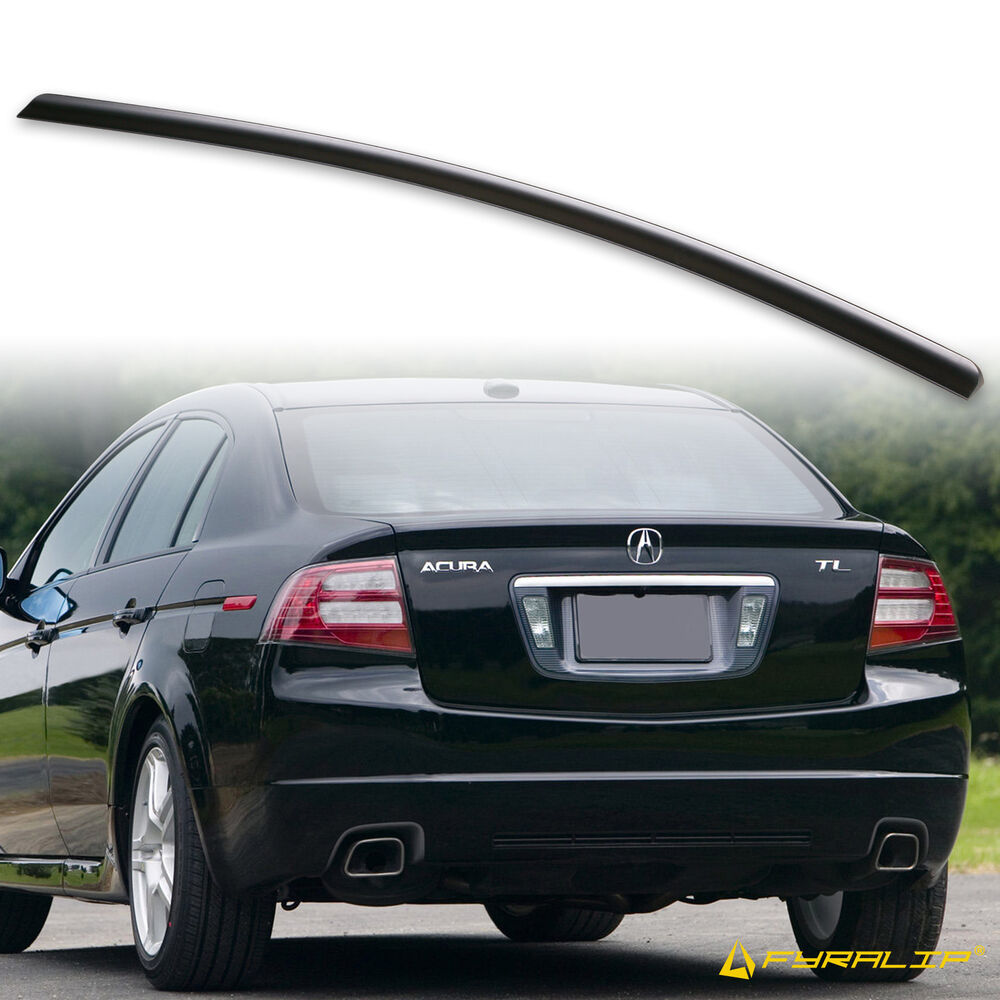 * 2004-2008 For Acura TL REAR TRUNK LIP SPOILER WING