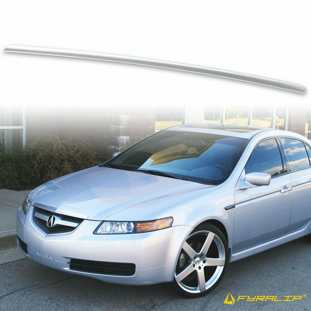 * PAINTED 2004-2008 For Acura TL TRUNK LIP SPOILER Satin