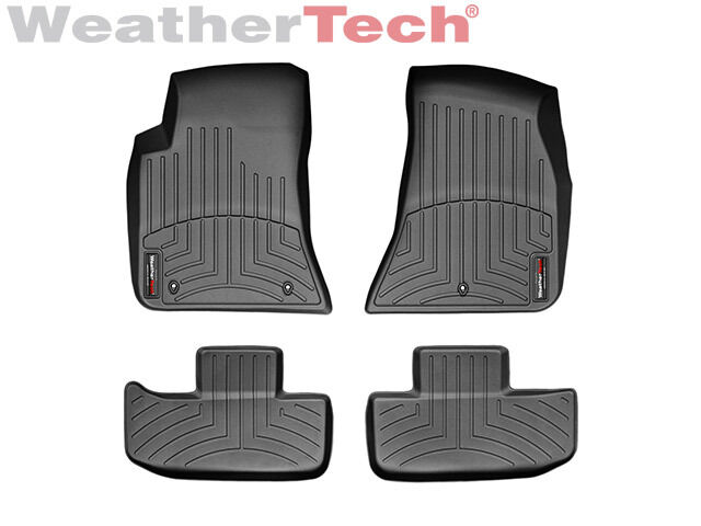 Weathertech Floor Mats Floorliner For Dodge Challenger 2011 2017 Black Ebay