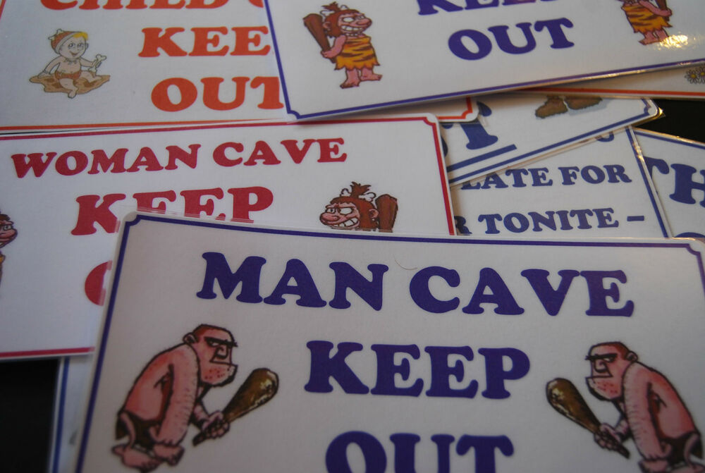 Woman Cave Signs For Garage : Man cave woman childs teenagers mother in law s