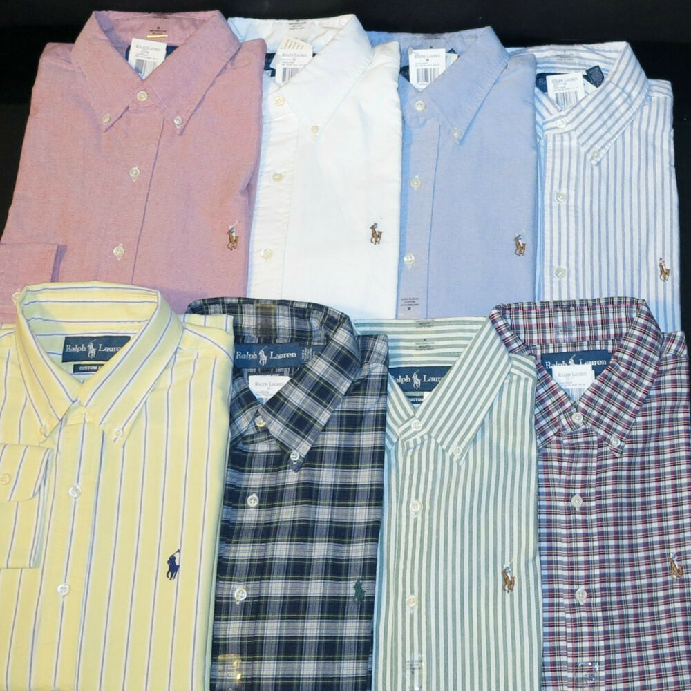 Mens Polo Long Sleeve Shirts