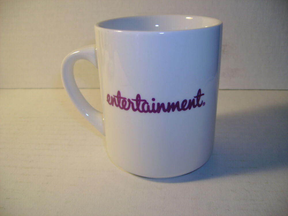 Entertainment Guide Discount Coupon Coffee Mug Hard To