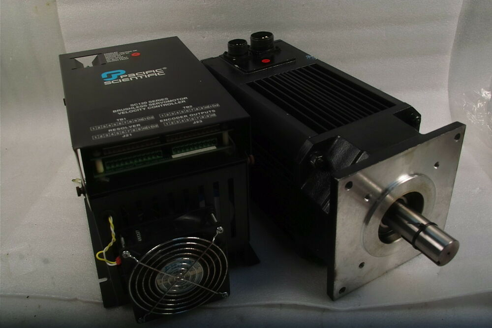 Pacific scientific brushless servo motor r88gena r2 ns nv for Pacific scientific stepper motor