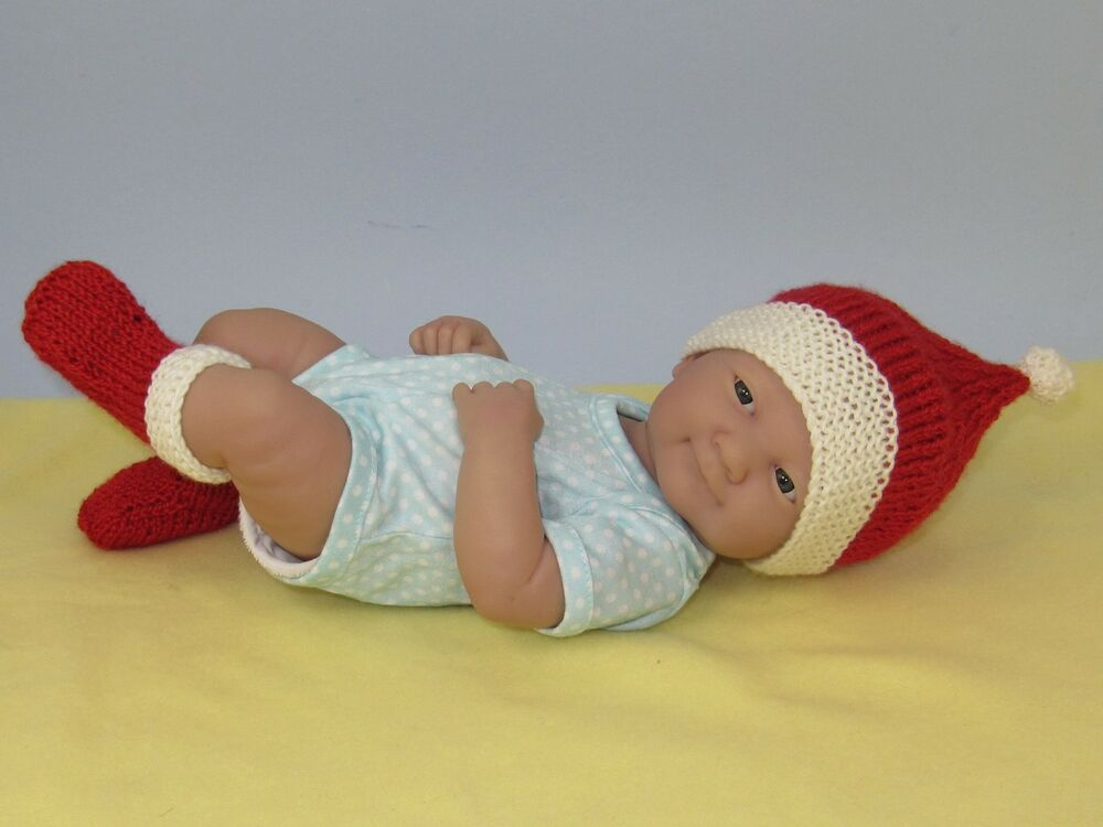 KNITTING INSTRUCTIONS - JUST FOR PREEMIES- SANTA HAT & BOOTIES ...