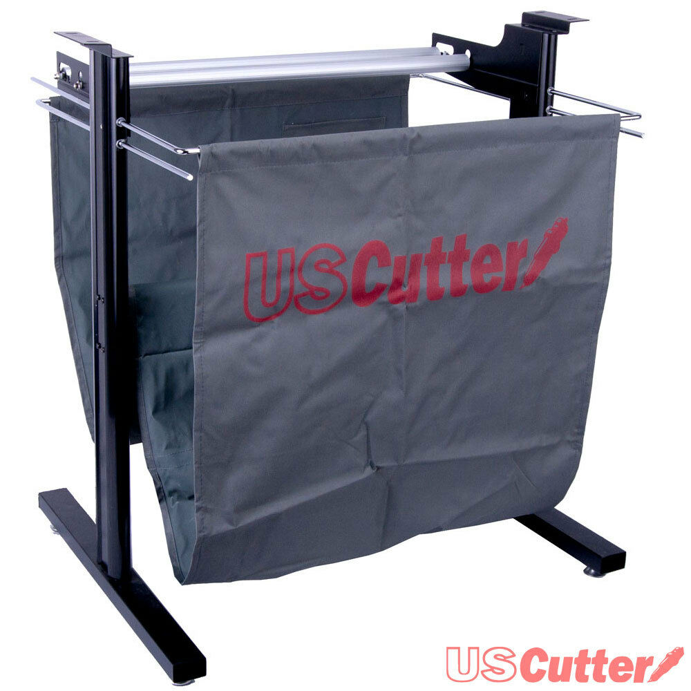 24in Vinyl Cutter Stand W Material Basket For Creation