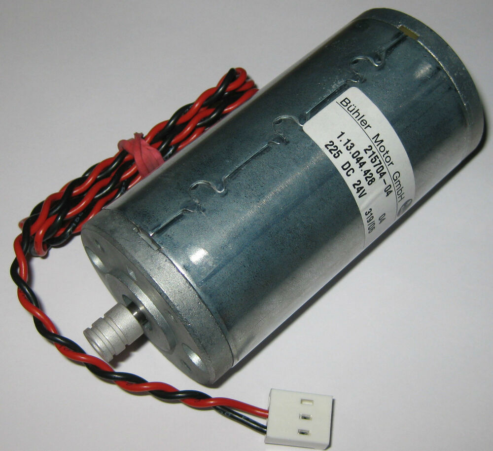 Buhler permanent magnet 24 v dc large hobby motor with for A and l motors