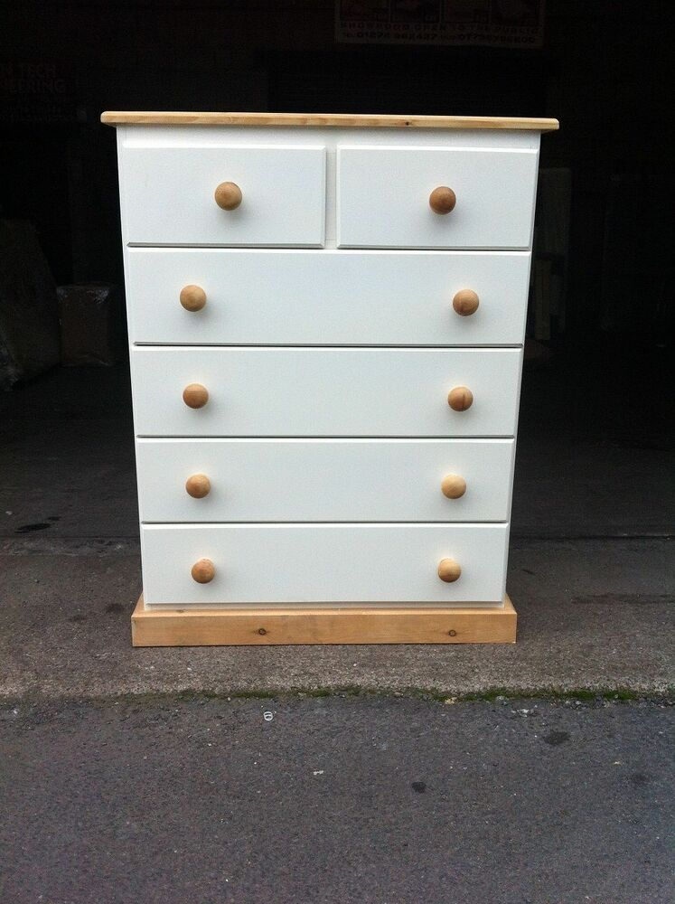 Hand made countryside drawer chest not flat packs ebay
