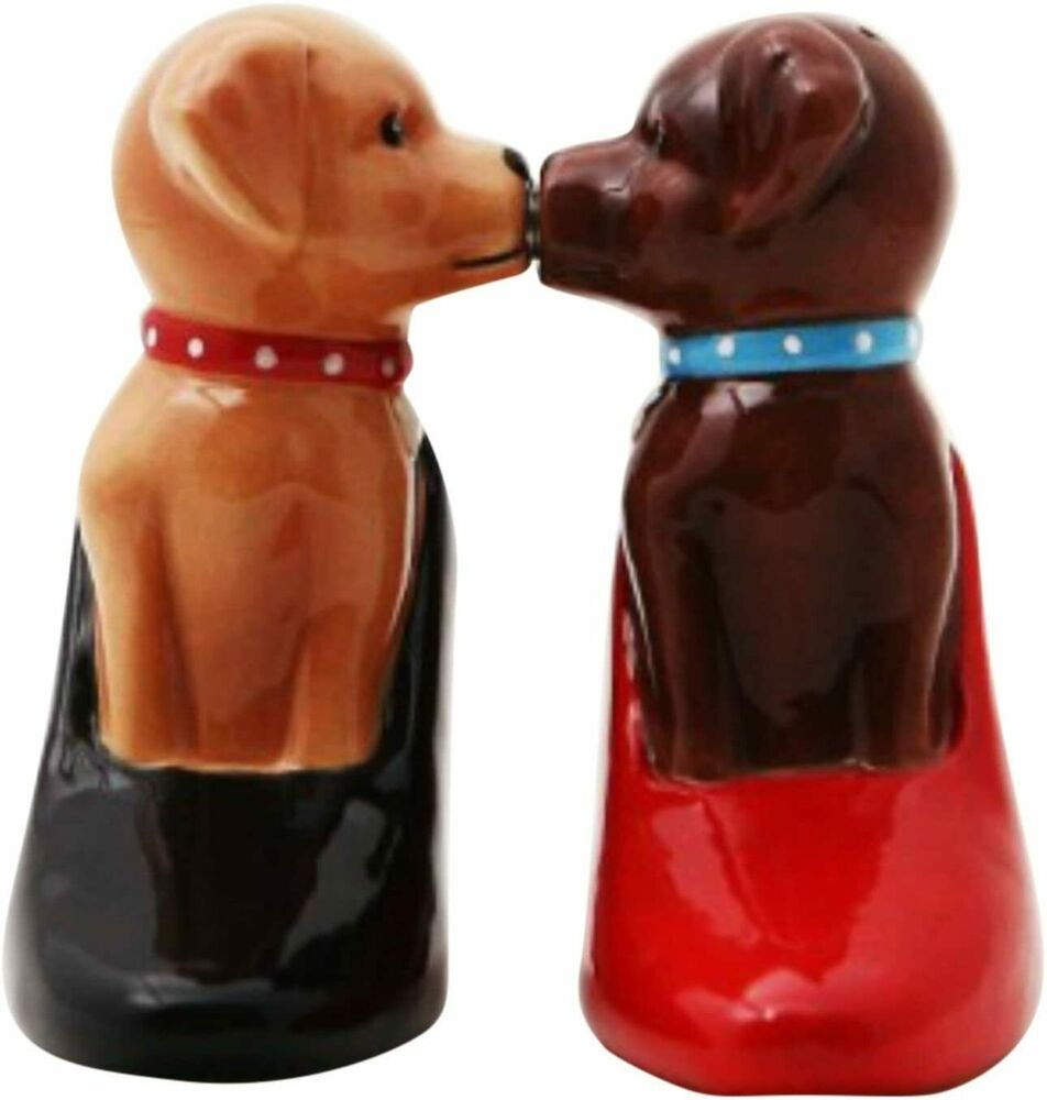 Ceramic Magnetic Salt And Pepper Shakers Collectibles