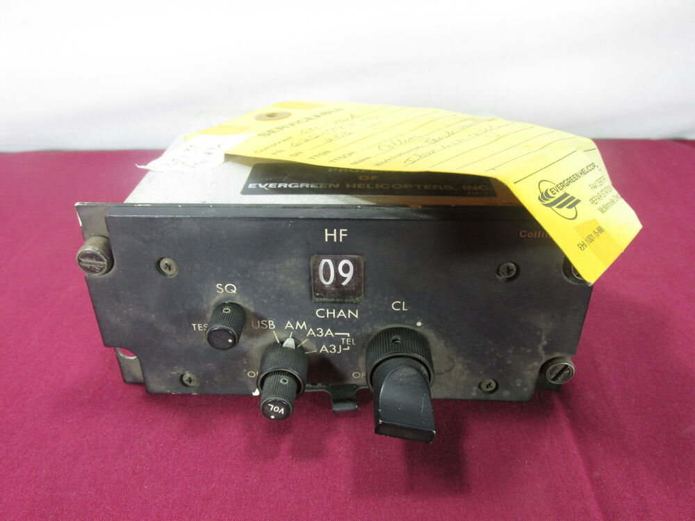 Aircraft Collins Control Type Ctl 201a P N 622 4490 001 Aviation Avionics Ebay