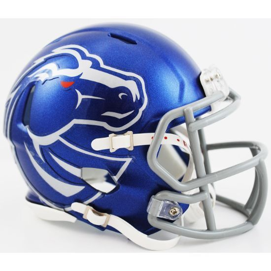 Boise State Broncos Ncaa Riddell Speed Authentic Mini