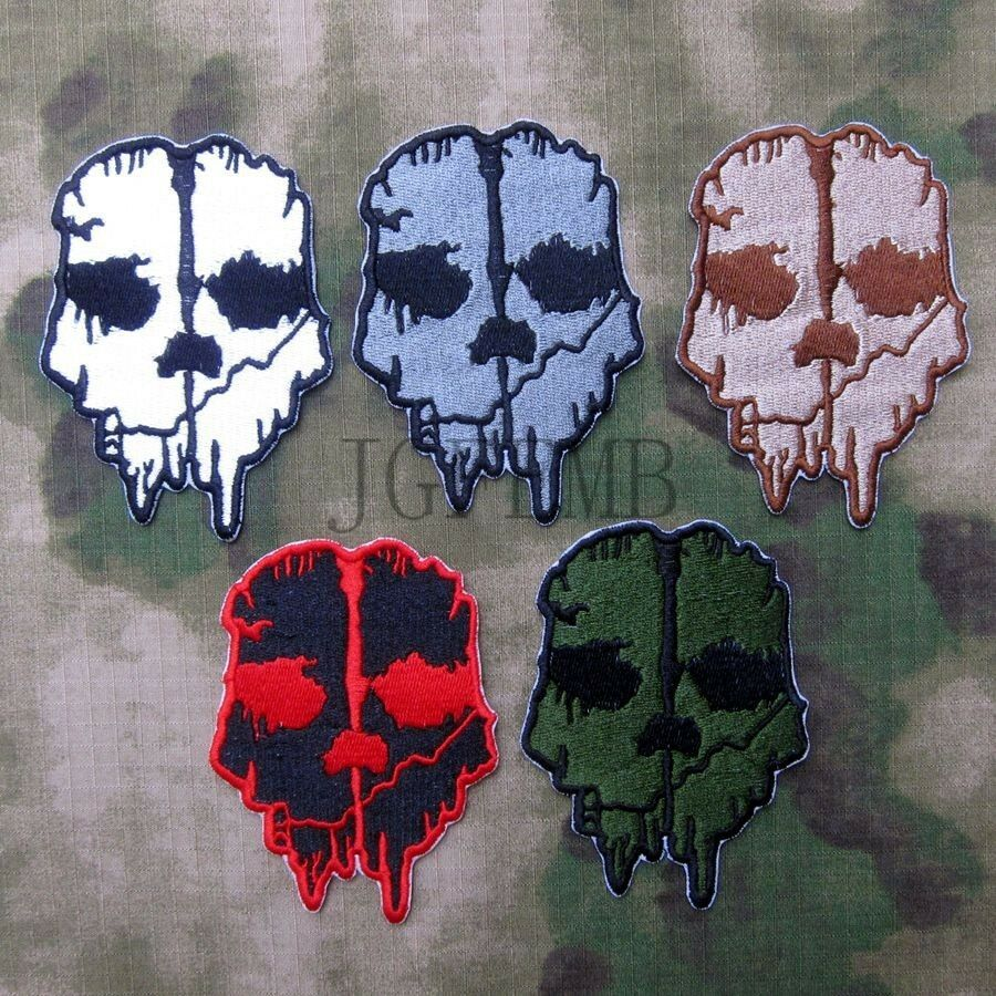 Cod ghosts emblems and patches