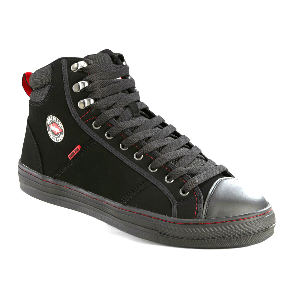 lee cooper steel toe cap baseball style safety boots