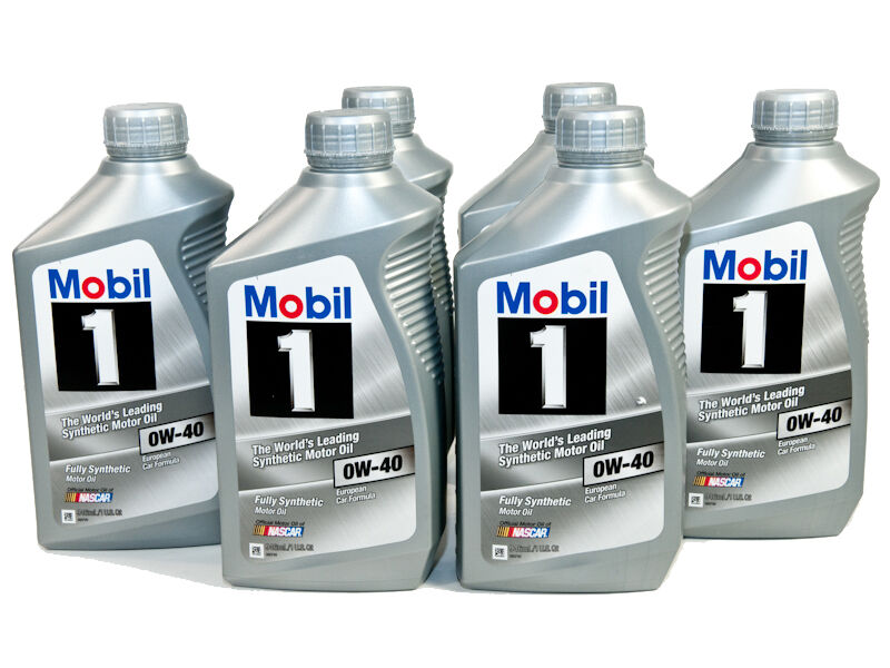 mobil 1 sae 0w 40 fully synthetic engine motor oil 6 1. Black Bedroom Furniture Sets. Home Design Ideas