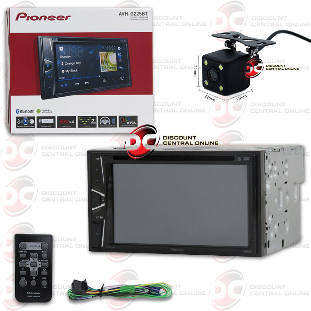 "PIONEER AVH-X490BS 7"" 2DIN TOUCHSCREEN CAR CD DVD STEREO"