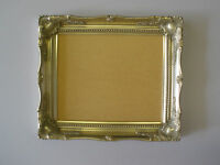 Silver shabby ornate swept 14x11 inch picture frame