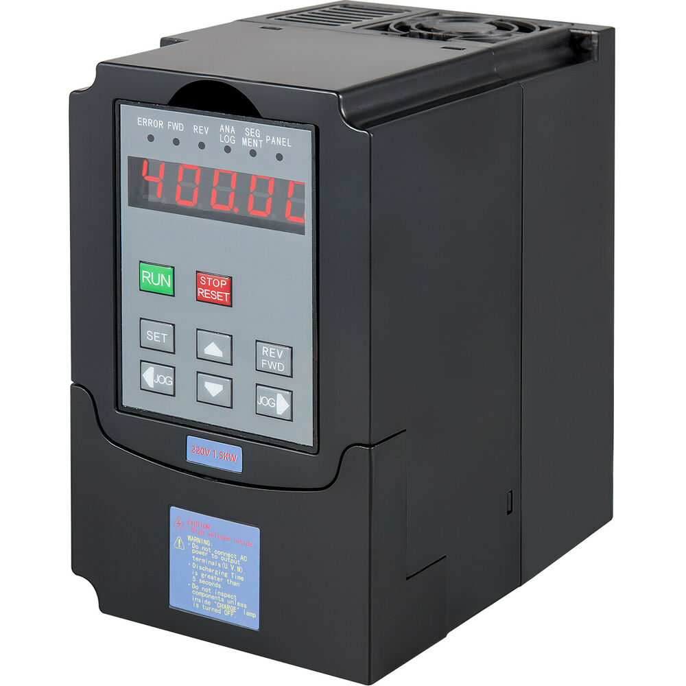 Variable speed drive vsd vfd 1 5kw 240v 1 or 3 phase in 3 for 3 phase vfd single phase motor