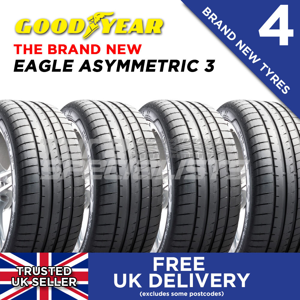 4x new 225 40 18 goodyear eagle f1 asymmetric 3 92y xl. Black Bedroom Furniture Sets. Home Design Ideas