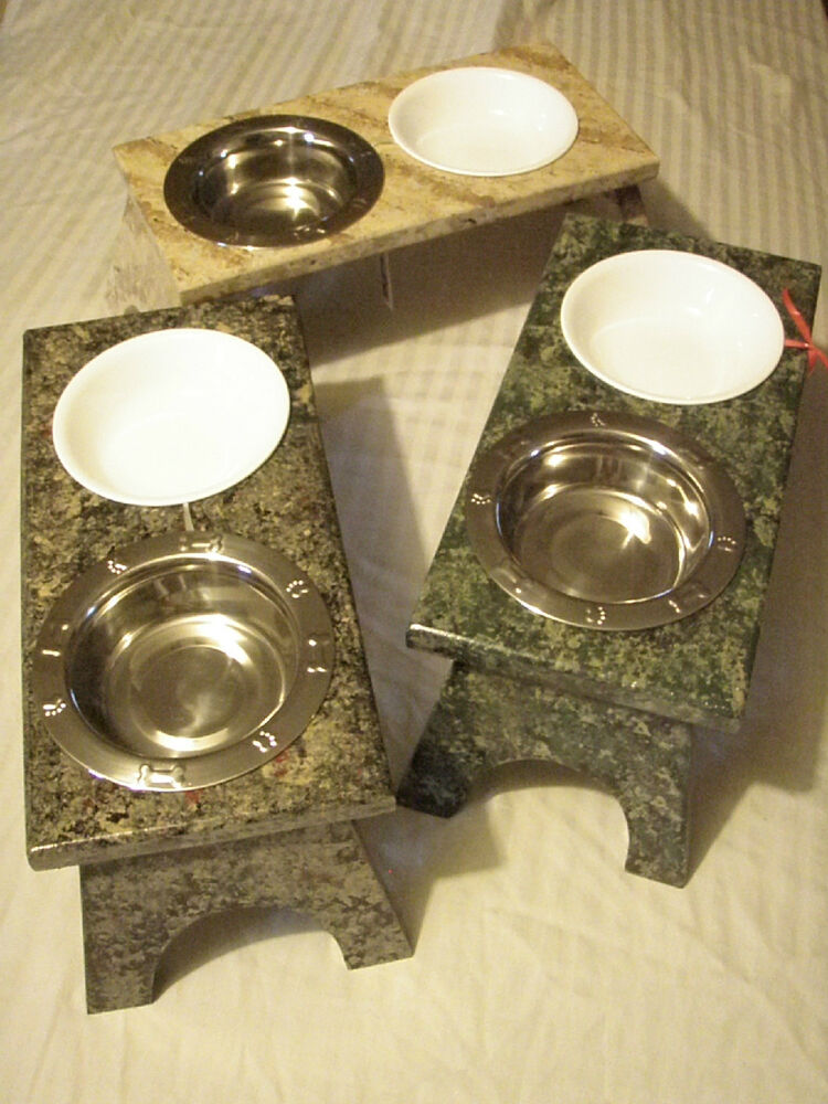 Raised Cat Feeding Bowls/Elevated Feeder Station/Food
