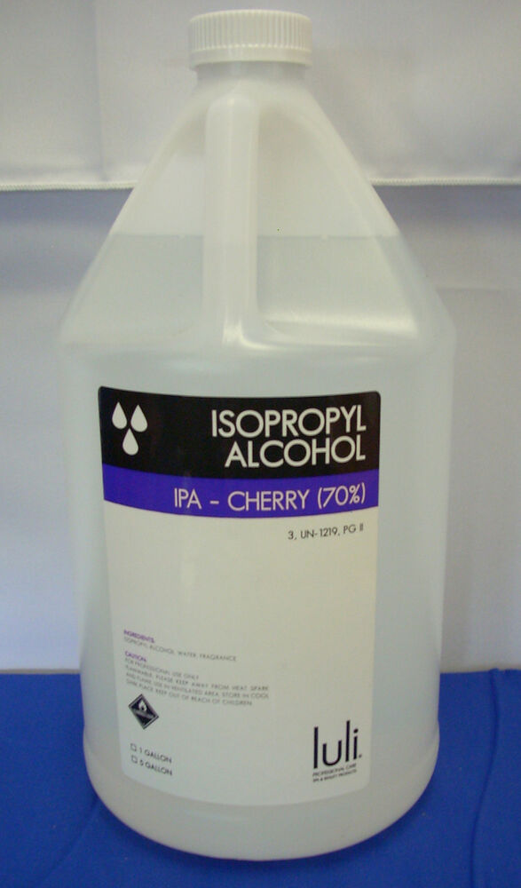 luli spa  u0026 beauty products cherry scented 70  isopropyl