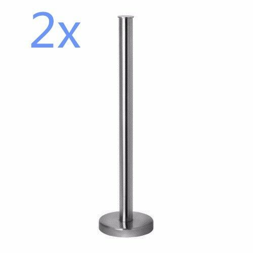 2x ikea grundtal toilet paper roll stand stainless steel holder rack silver ebay. Black Bedroom Furniture Sets. Home Design Ideas