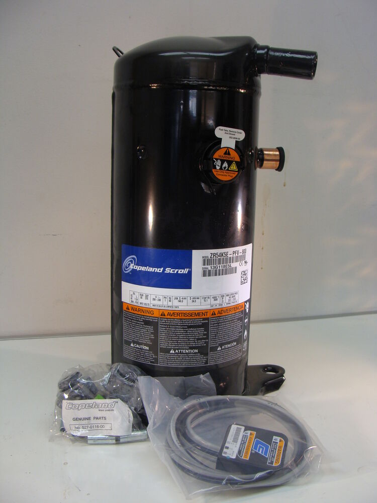 New Copeland Scroll Air Conditioning Compressor Zr54k5e