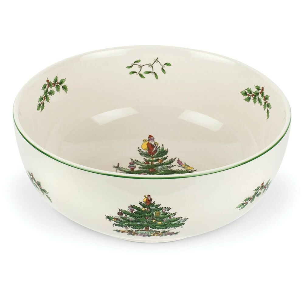 Spode Christmas Tree China Sale: Spode Christmas Tree Serving Bowl 24cm