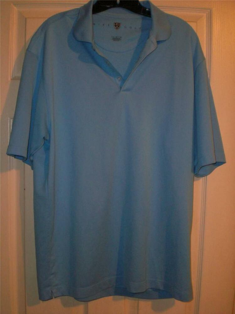 Nike Golf Dri Fit Mens Size Large Quarter Button Up Golf