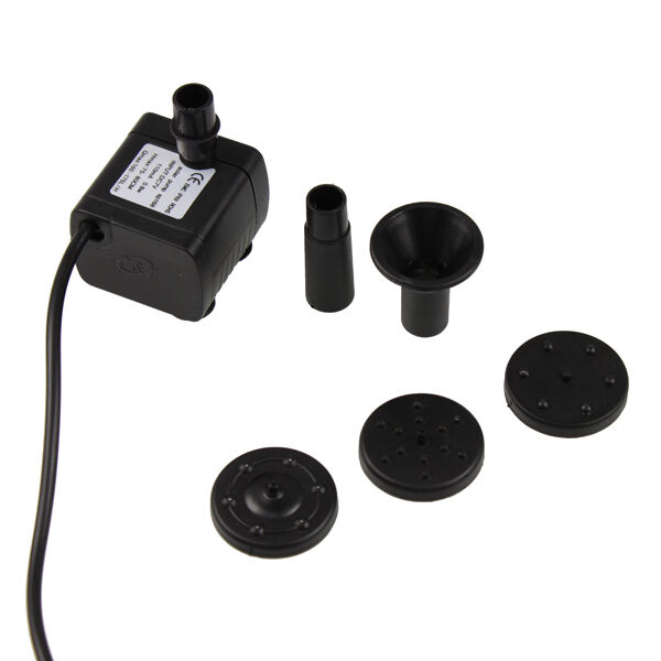 Solar Water Pump Power Panel Kit Fountain Pool Garden Pond Submersible Watering Ebay