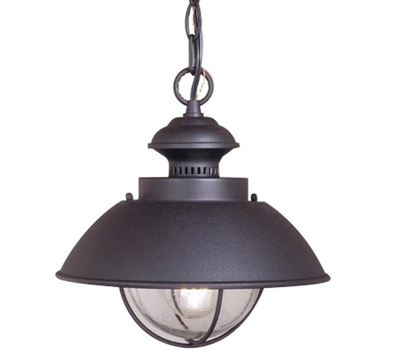 Porch Light Pendant: Vaxcel Harwich Outdoor Indoor Pendant Lighting Lamp