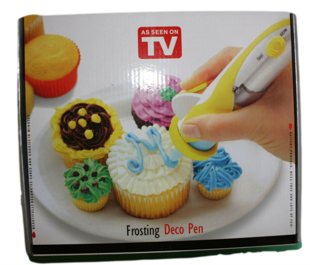 Cake Decorating Icing Pens : Icing Decorating Pen, Battery Operated, Sugarcraft, Cake ...