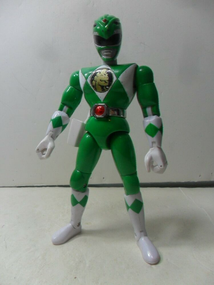 mighty morphin power rangers dragonzord green ranger action figure 2 ebay. Black Bedroom Furniture Sets. Home Design Ideas
