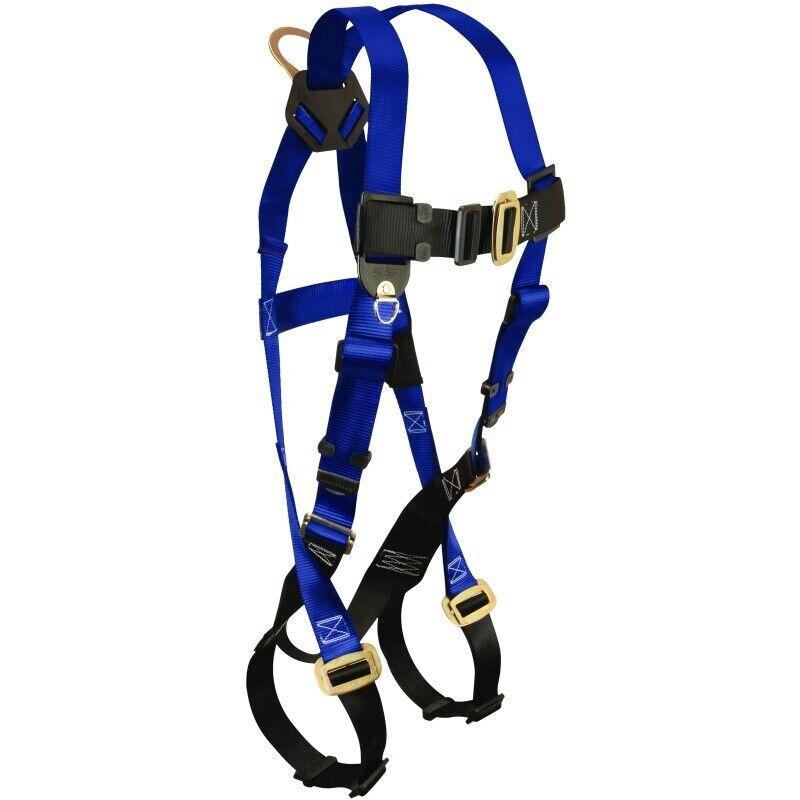 falltech contractor fall protection safety body harness. Black Bedroom Furniture Sets. Home Design Ideas