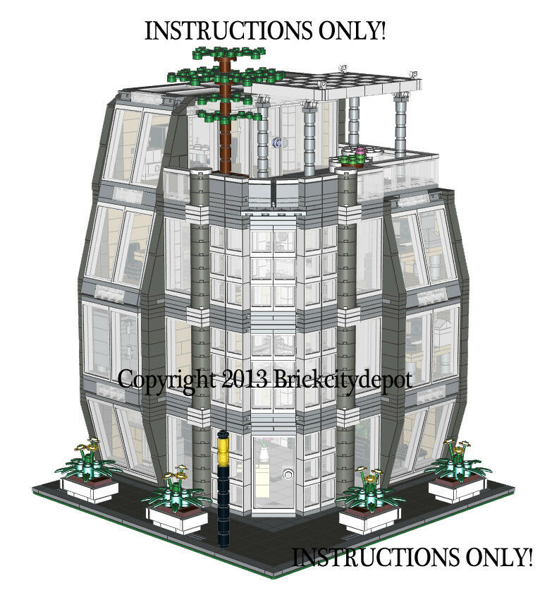 Lego custom modern modular building architecture firm for New architecture firms