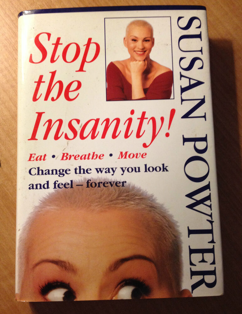 Image result for susan powter stop the insanity