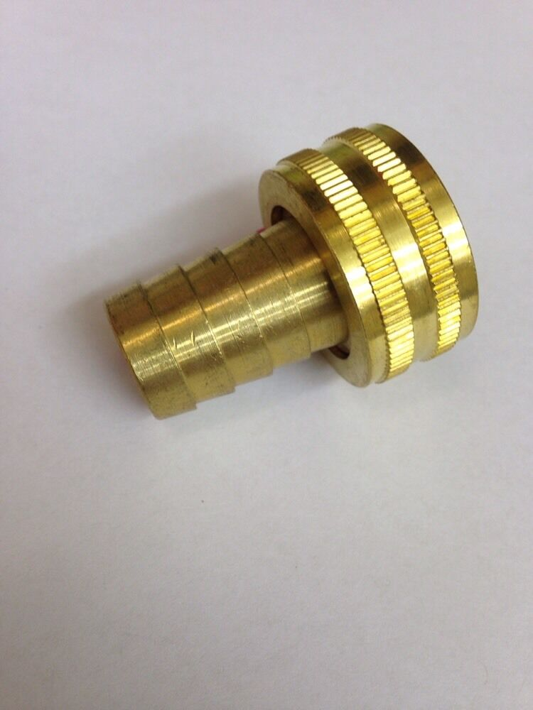 Female garden hose fitting fgh to quot barb adaptor