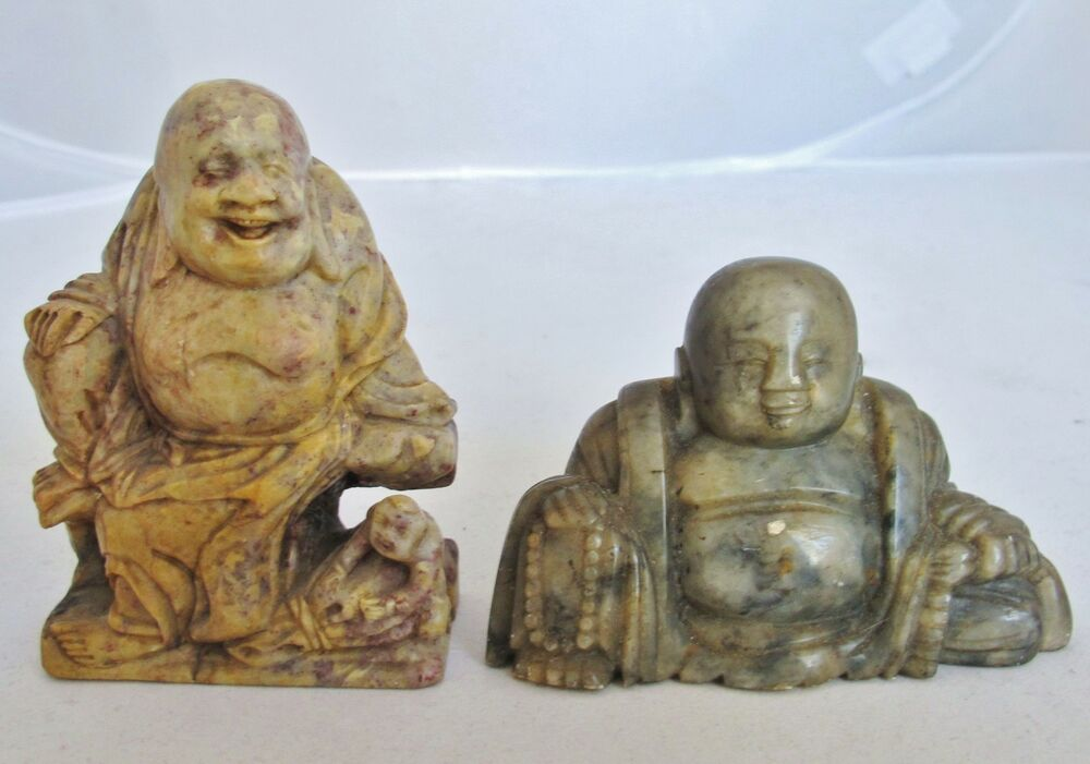 Antique or vintage chinese carved soapstone
